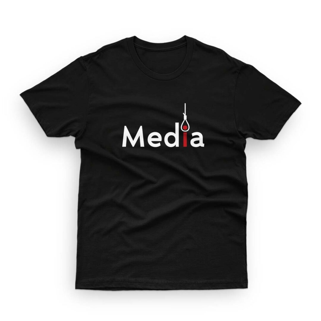 Killer media. Savage, trendy T-shirt
