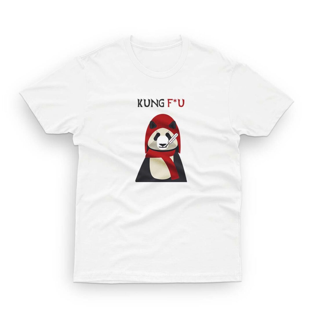 Kung Flu. Savage, trendy T-shirt