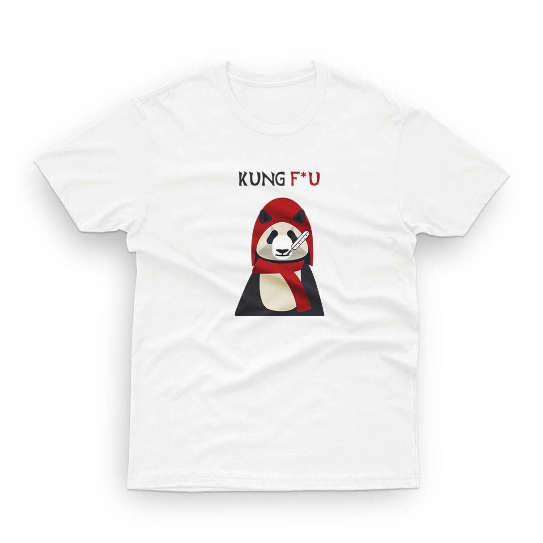 Kung Flu. Savage, trendy T-shirt